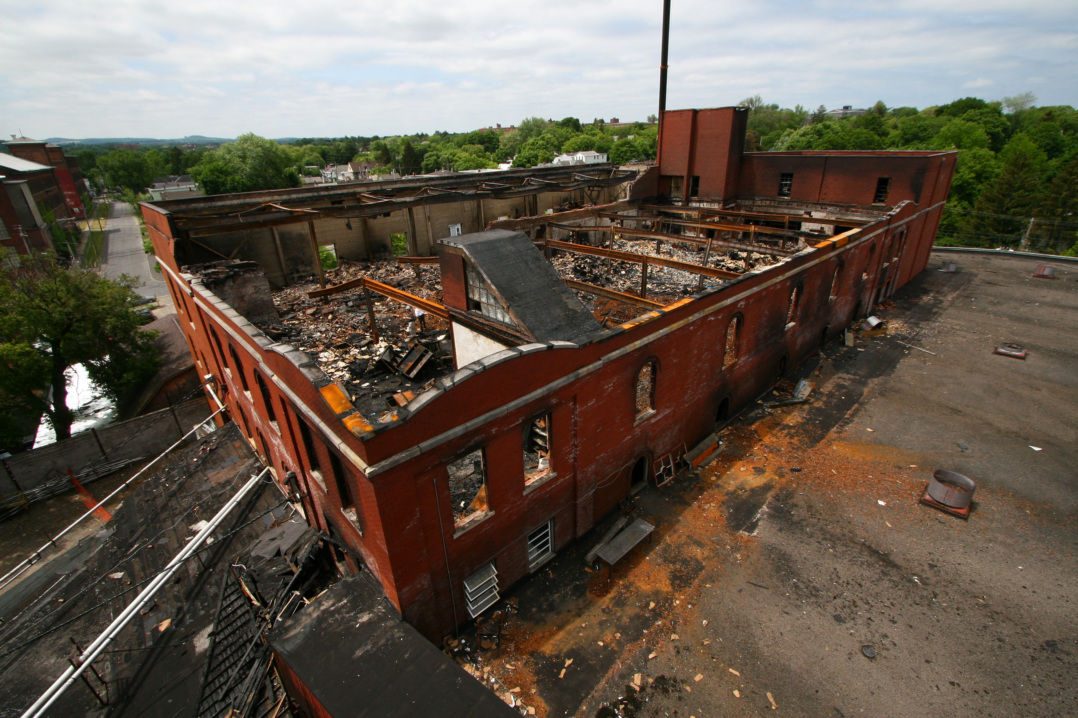 Commercial Business Fire Insurance Claim - The Greenspan Co./Adjusters International