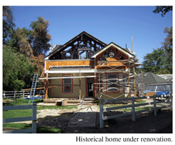 Historic Home Complete Loss