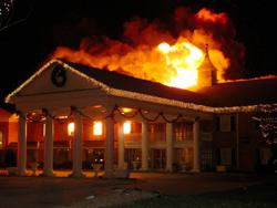 Arsonist Fire Threatens Hotel Business